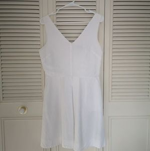 White Cotton GAP Dress Size 8